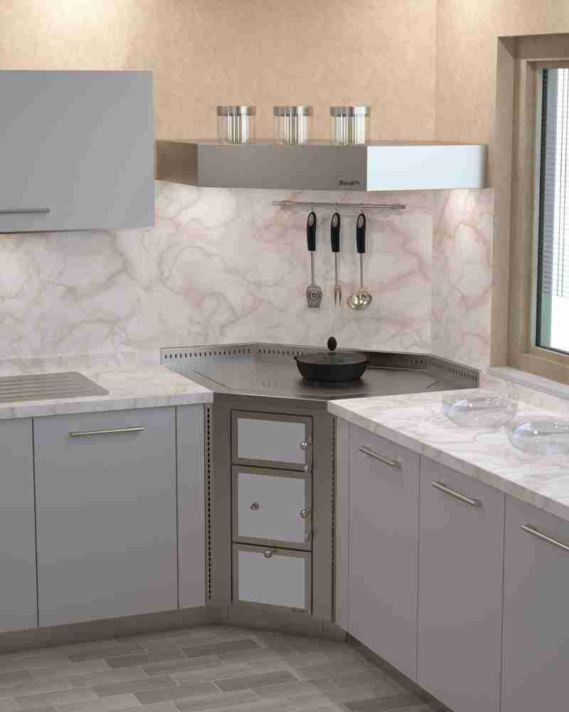 Cucine Moderne Con Gas Ad Angolo : Küchenherde kaminofenstudio
