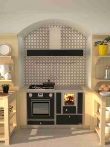 Rizzoli Küchenherd RV 120
