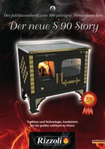 Rizzoli Jubiläumsherd S 90 Story