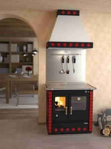 Rizzoli Küchenherd S 80 Dekor